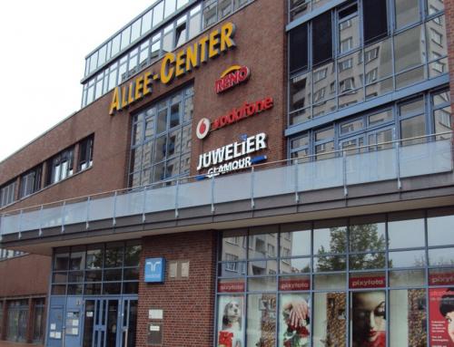 Das Allee-Center hat eine Verkaufsfläche von 12.300 m²